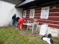 Na chatách RSG proběhla podzimní brigáda