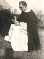 F. Fišer v řeholním oděvu dominikánského řádu