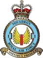 Odznak 1. britské stíhací perutě RAF