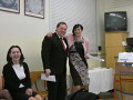 Předsedové komisí L. Bubeníková a M. Soukup s členkou komise R. Mlázovskou (v popředí)