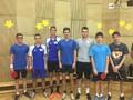 Družstvo našich kvintánů postoupilo do krajského kola ve stolním tenise!