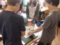 studenti 3TA připravují pracovní listy