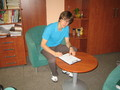 Streetballová liga 2012 - Tomáš Friedel podepsal smlouvu s týmem Profesorů