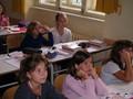 První školní den - přivítání nových primánů a žáků 1A