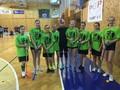 V okresním kole florbalu družstvo dívek našeho gymnázia obsadilo první místo.