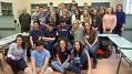 Reakce studentů na návštěvu z USA