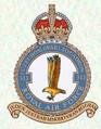 Odznak 313. československé stíhací perutě RAF