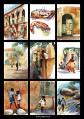 Výtvarná tvorba A. Mocové: akvarely z jejích cest do Afriky